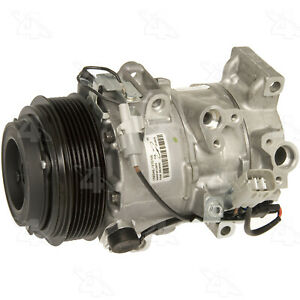 A/C Compressor-New Compressor 4 Seasons (or Equivalent) 158348