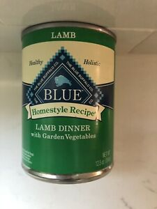 Blue Buffalo Can Homestyle Recipe Dog Lamb & Vegetables 12.5oz 8ct