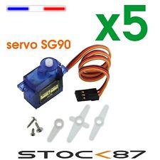 5115# 5 pcs micro Servo moteur SG90 / 9G - servo motor modelisme Arduino