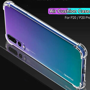 For Huawei P20 Pro/P Smart Luxury Hybrid Clear 360° Shockproof Case Cover Bags