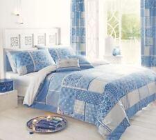 Linge de lit et ensembles bleu avec des motifs Patchwork pour cuisine