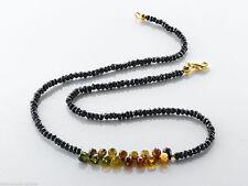 Halsketten aus Edelsteinen mit Turmalin-Hauptstein für Damen