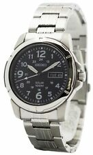 Seiko Solar Quartz SNE095P1 SNE095 SNE095P Men's Watch