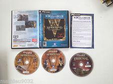 The Elder Scrolls 3 III : Morrowind GOTY extension Tribunal PC DVD FR