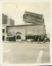 1940s, Melody Lane, Melody Cafe, White King Soap Billboard, California Photo
