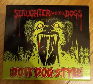 Slaughter And The Dogs - Do It Dog Style Cd Digipak Punk