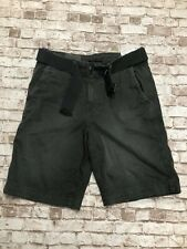 American Eagle Men's Size 32 Longer Length Gray Shorts Belted