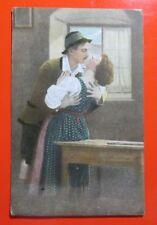 Love Hugs, Postcard Posted 1921