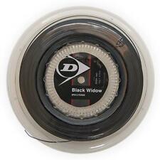 Dunlop Black Widow 16 G Tennis String Reel (Black) Authorized Dealer w/ Warranty