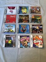Nintendo DS & Gameboy Advance Manual Lot Of 12 Mario Bombermam Avatar