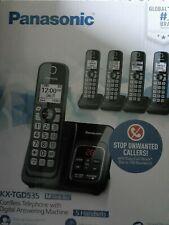 New ListingPanasonic Kx-Tgd535M 5Hs Expandable Cordless Telephone, Itad, Met Black