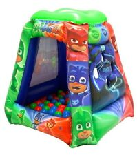 PJ Masks Hero Time Playland with 20 Soft-Flex Balls Inflatable Ball Pit Fun Play