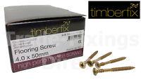 4.0 X 50mm TIMBERFIX 360 HIGH PERFORMANCE FLOORING SCREWS POZI COUNTERSUNK