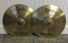 """Istanbul Agop 14"""" Epoch hi hat cymbals -899/1037g (video/sound file)"""