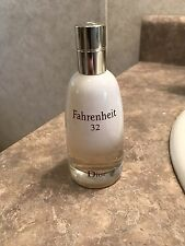 Christian Dior Fahrenheit 32 Men's Cologne 3.4 Ounce Big Bottle UNBOXED NEW