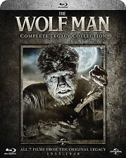 THE WOLF MAN Complete Legacy Collection 1935-1948 BOX 4 BLURAY in Inglese NEW .c