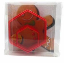 Hexagon Cookie Cutter set of 2, Biscuit, Pastry, Fondant Cutter