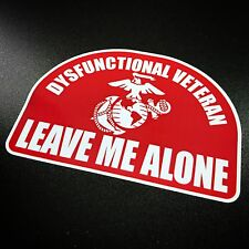 Dysfunctional Veteran USMC - Sticker