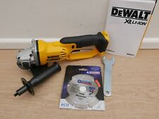 "DEWALT XR 18V DCG412 125MM 5"" ANGLE GRINDER BARE UNIT + DIAMOND DISC"
