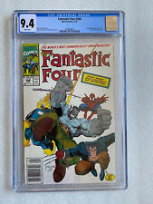 Fantastic Four #348 CGC 9.4 (Newsstand) Spider-Man Wolverine Ghost Rider App