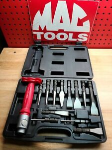 MAC TOOLS 12 Pc Interchangeable Bit Punch And Chisel Set