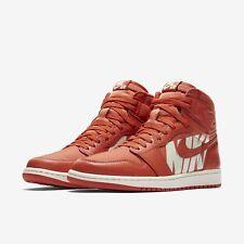 Nike Air Jordan 1 Retro High OG size 8. 555088-800. Vintage Coral Sail. Orange