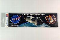 "NASA ORION Bumper Sticker Official Authentic Collectible 10"""