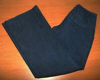 EXPRESS Editor Stretch Wide Leg Jeans Size 4 R