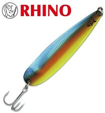 Rhino Trolling Spoons - Schleppblinker, Farbe: copper blue dolphin, Meereköder