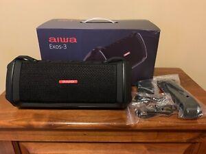 Aiwa Exos-3 Bluetooth Speaker (Black)