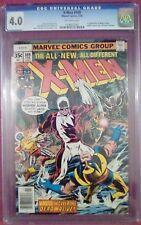 """X-Men #109 (Feb 1978, Marvel) CGC 4.0 VG (1st Weapon Alpha) """"KEY"""""""