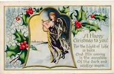 CHRISTMAS – Angel with Lyre - 1911
