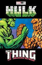 Hulk #1 Mike McKone Hulk Thing Epic Handshake Meme Variant 2021 Cates Ottley