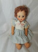 "Vintage Magic Skin Doll  17"" Tall  Circa 1950's"