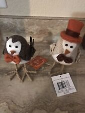 New 2019 Featherly Friends Harvest Bird Lot Thanksgiving Nwt