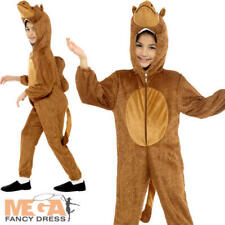 Camel Kids Fancy Dress Nativity Christmas Desert Animal Childrens Costume Outfit