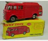 Vintage BOXED Dinky 259 Bedford Fire Engine 1960- 1967