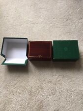 ROLEX WATCH INNER & OUTER MAHOGANY BOX ONLY 81.00.71 FOR GOLD DAYTONA 116518