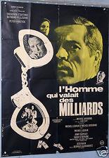 VINTAGE MOVIE POSTER 1967 FILM L'HOMME QUI VALAIT DES MILLIARDS