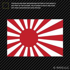 Japan Rising Sun Flag Sticker Self Adhesive Vinyl japanese rising sun naval