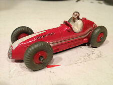 DINKY TOYS 1954 MASERATI RACE CAR W/DRIVER VERY GOOD ORIGINAL (23N)