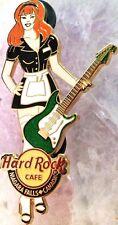Hard Rock Cafe Niagara Falls Canada 2008 Waitress w/ Guitar Pin #1/3 Hrc #40115