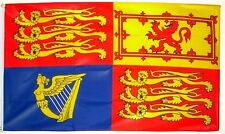 ROYAL STANDARD FLAG 5 X 3 ROYALTY ENGLAND QUEEN KING
