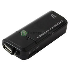 USB Black Portable 2 AA Battery Charger for Apple iPod Touch Nano 1 2 3 4 5 6 7