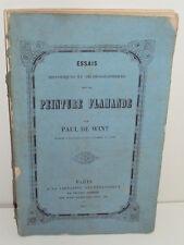Paul de Wint Essais Historiques et Archéologiques sur la Peinture Flamande, 1847