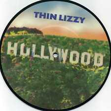 """THIN LIZZY Hollywood/The Pressure Will Blow 45 RPM PICTURE RECORD (UK IMPORT) 7"""""""