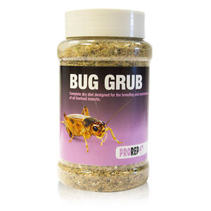 ProRep Bug Grub Jar Refill & 1kg - gut loading locusts, crickets, mealworm morio