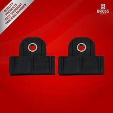2X regulador de ventana deslizante clips del canal de guillotina para Nissan #2