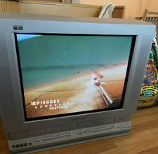 "Panasonic Triple Play Pv-Df2004 Television Tv/Dvd/Vcr Combo 20"" + Remote Guc!"