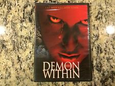 THE DEMON WITHIN OOP NEW SEALED SCREENER DVD! 2000 JEFF FAHEY DEMONIC HORROR!
